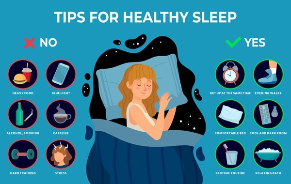 slaap tips
